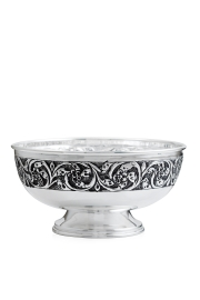 Adorn your Dining table with the Food Bowl crafted using Silver