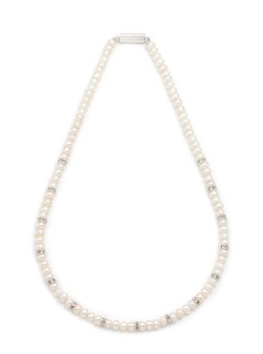 1 Line Pearls String Necklace JPSM2313