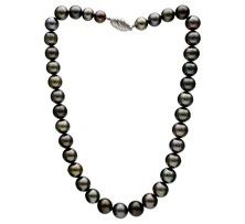 Tahitian Grey Pearl Necklace String