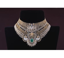 Diamond choker Necklace GNK0950