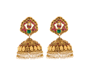 Gold with Gemstone Jewellery